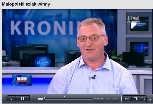 Marek Górski w TVP Kraków