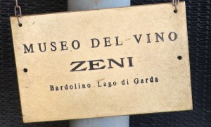 Bardolino Muzeum Winiarstwa ZENI