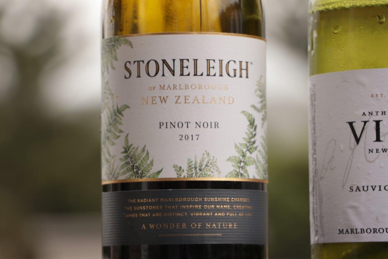 Nowa Zelandia i wino Stoneleigh Pinot Noir 2017 | Marlborough