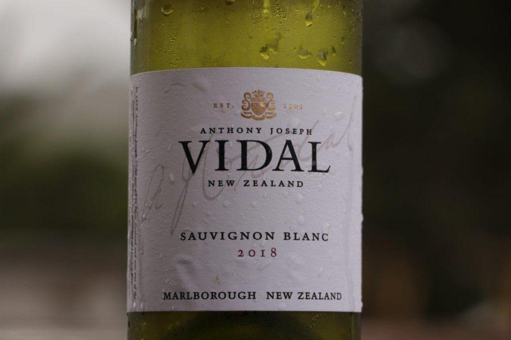 Anthony Joseph VIDAL Sauvignon Blanc 2018 | Marlborough