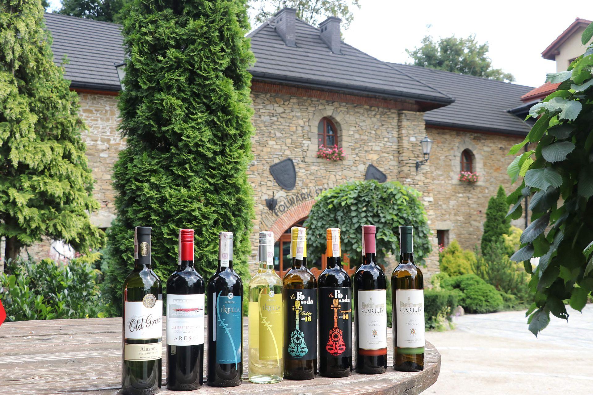 Wino na wesele Folwark Stara Winiarnia