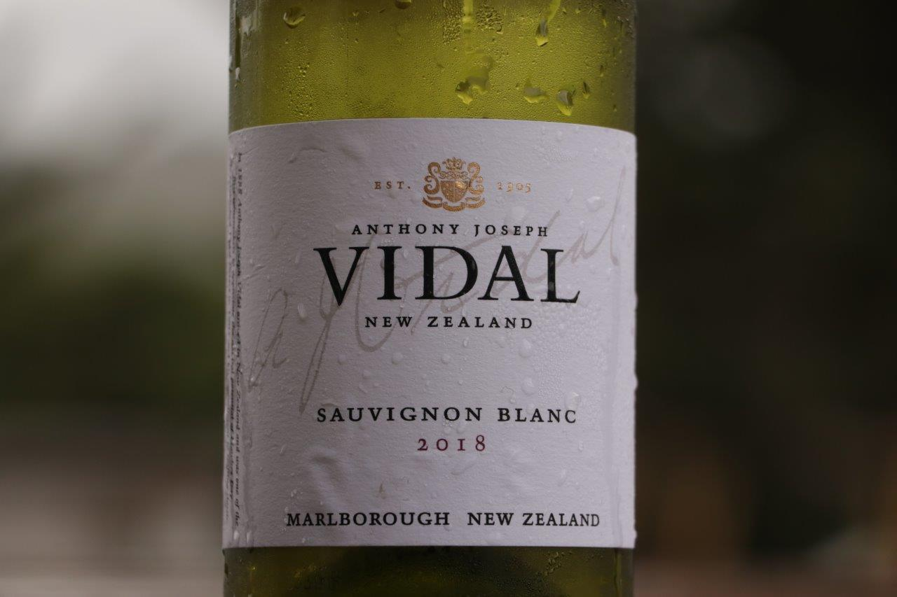 Anthony Joseph VIDAL Sauvignon Blanc 2018 | Marlborough