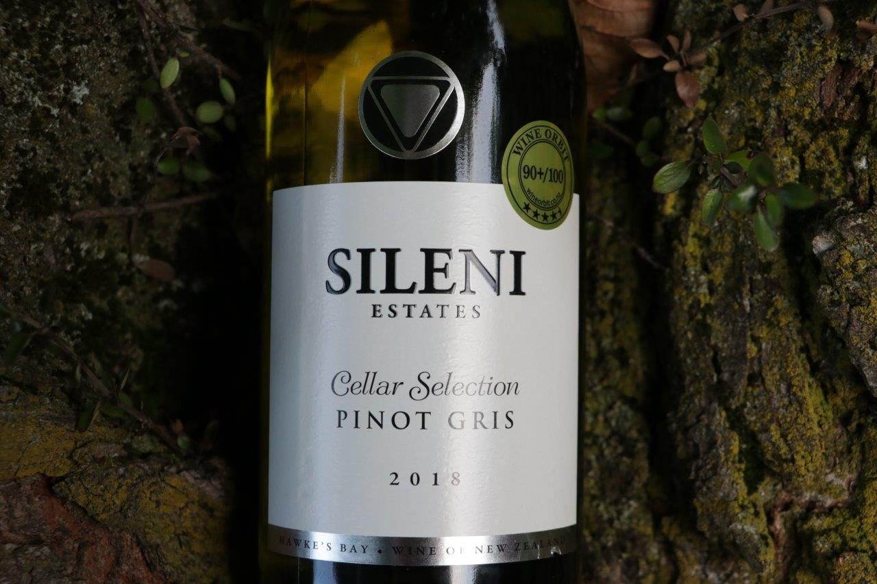 Nowa Zelandia i wino Sileni Estates Cellar Selection Pinot Gris 2018 | Hawke's Bay