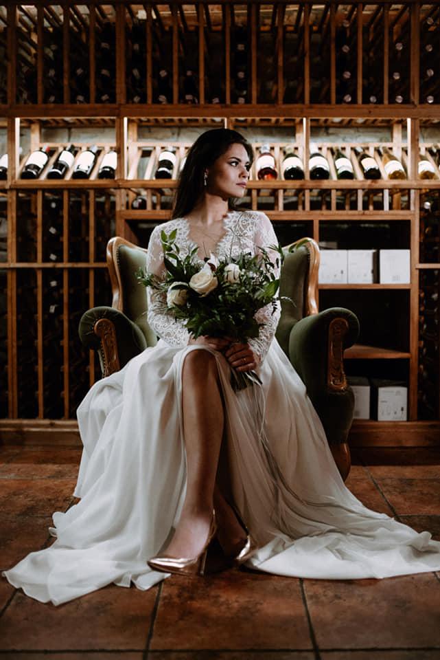Folwark Stara Winiarnia weselna sesja zdjęciowa
