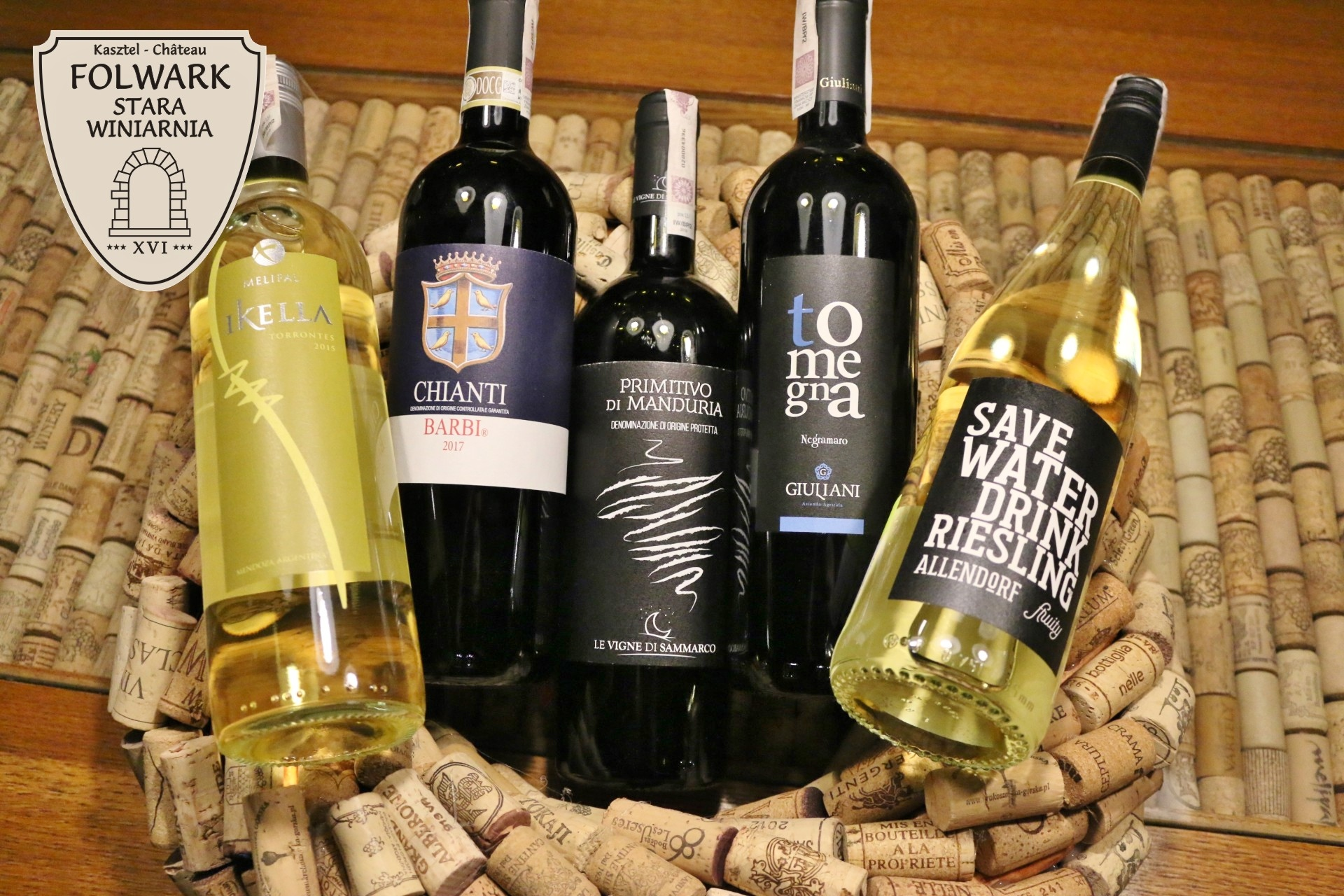 Degustacja wina Folwark Stara Winiarnia