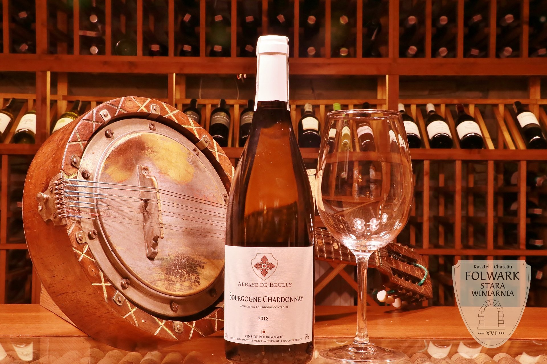 Abbaye de Brully Bourgogne Chardonnay Francja lubimywino pl