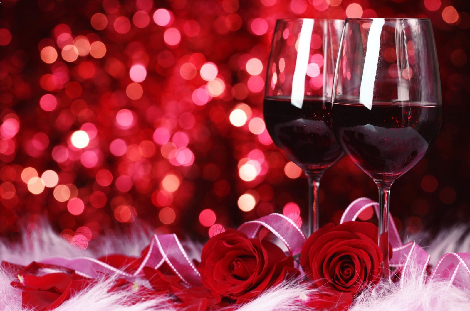 Wino na Walentynki